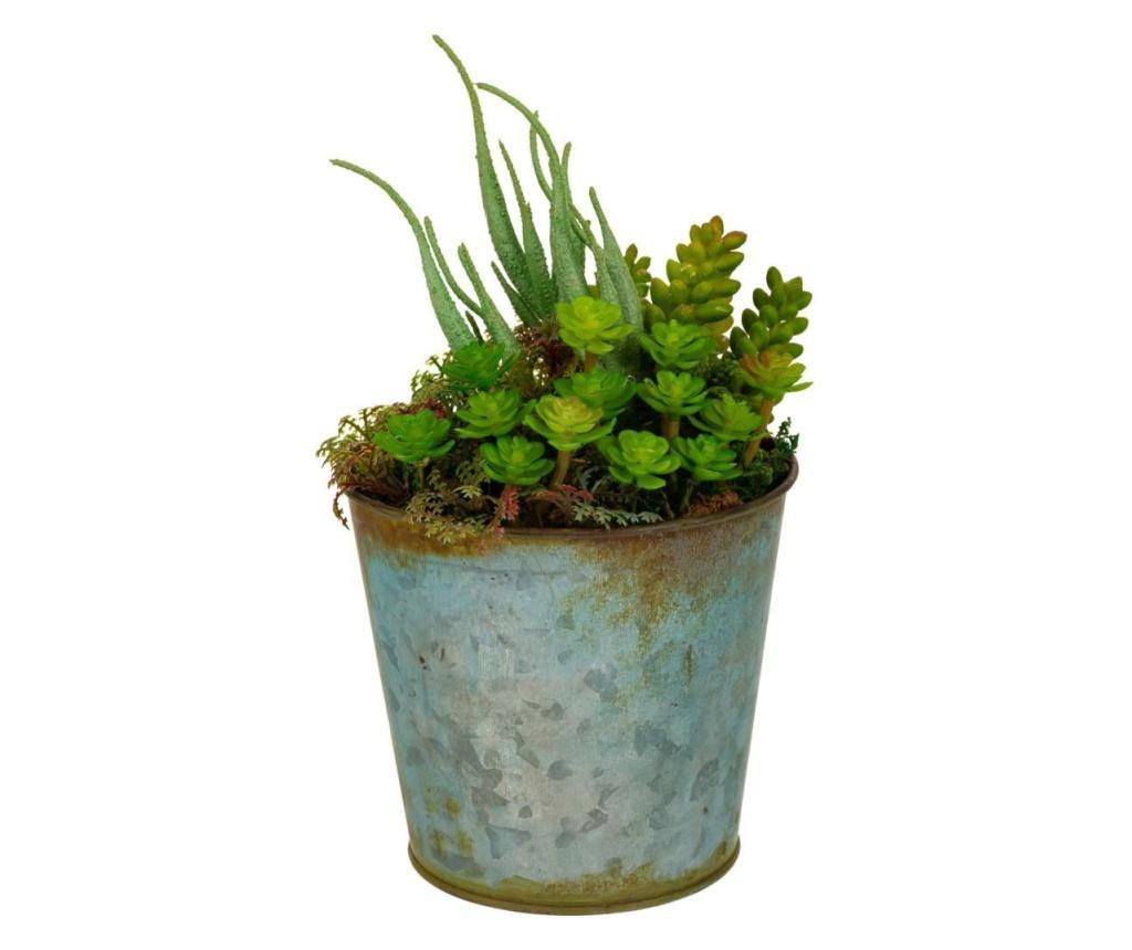 Floare artificiala in ghiveci - Creaciones Meng imagine
