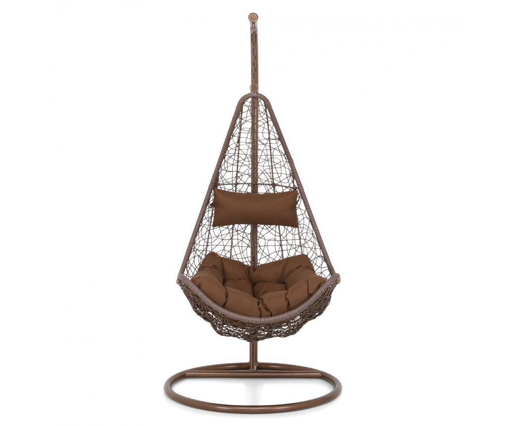 Scaun suspendabil de exterior Carousel Brown - Maison Mex, Maro imagine
