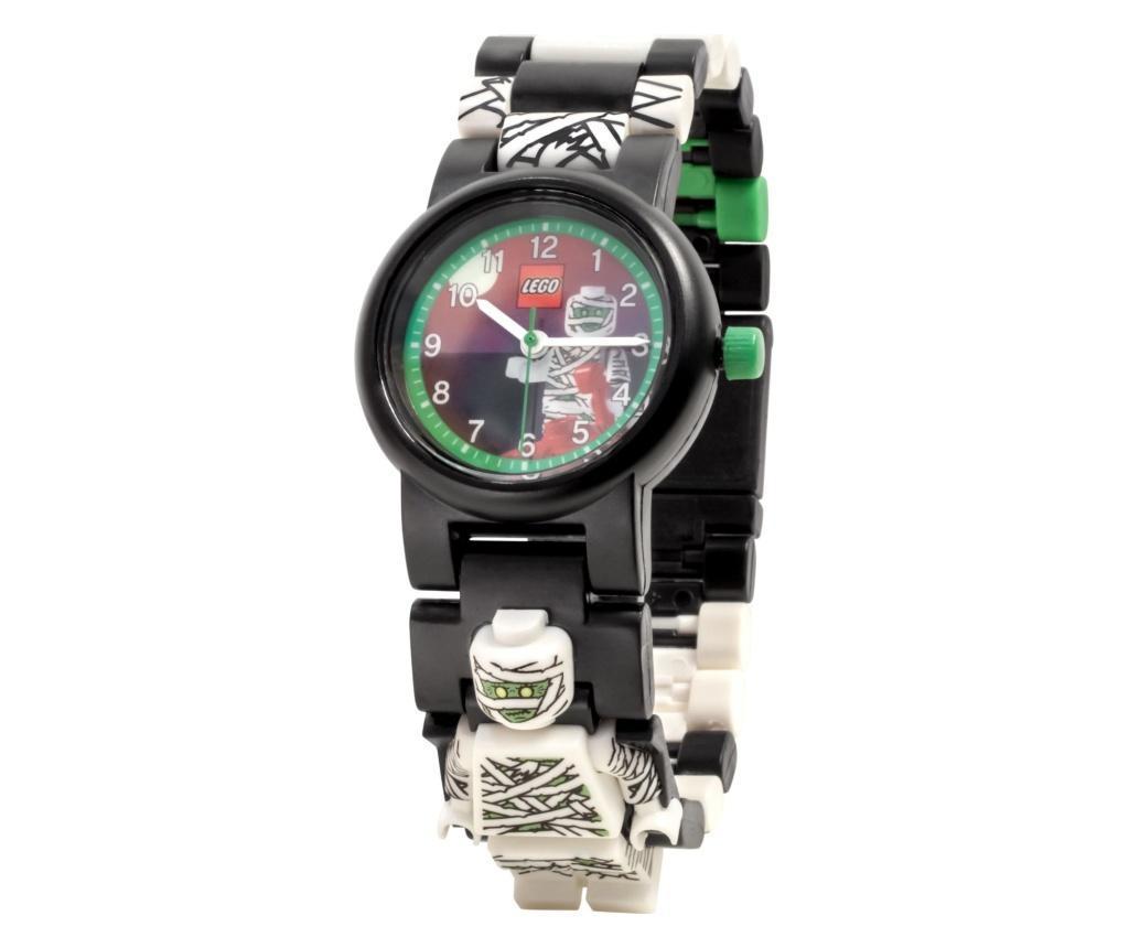 Ceas de mana pentru copii demontabil LEGO Mummy - LEGO Watch, Alb imagine