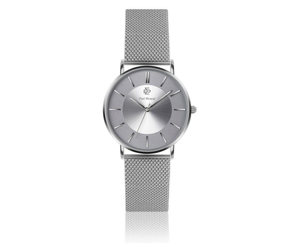 Ceas de mana dama - Paul McNeal, Gri & Argintiu imagine