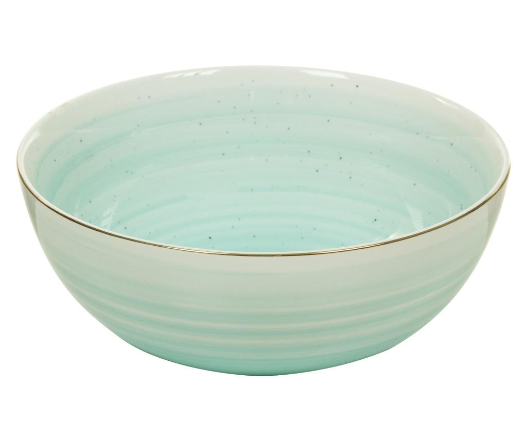 Bol pentru salata Gradient Marine Blue 1.8 L - Santiago Pons, Albastru imagine
