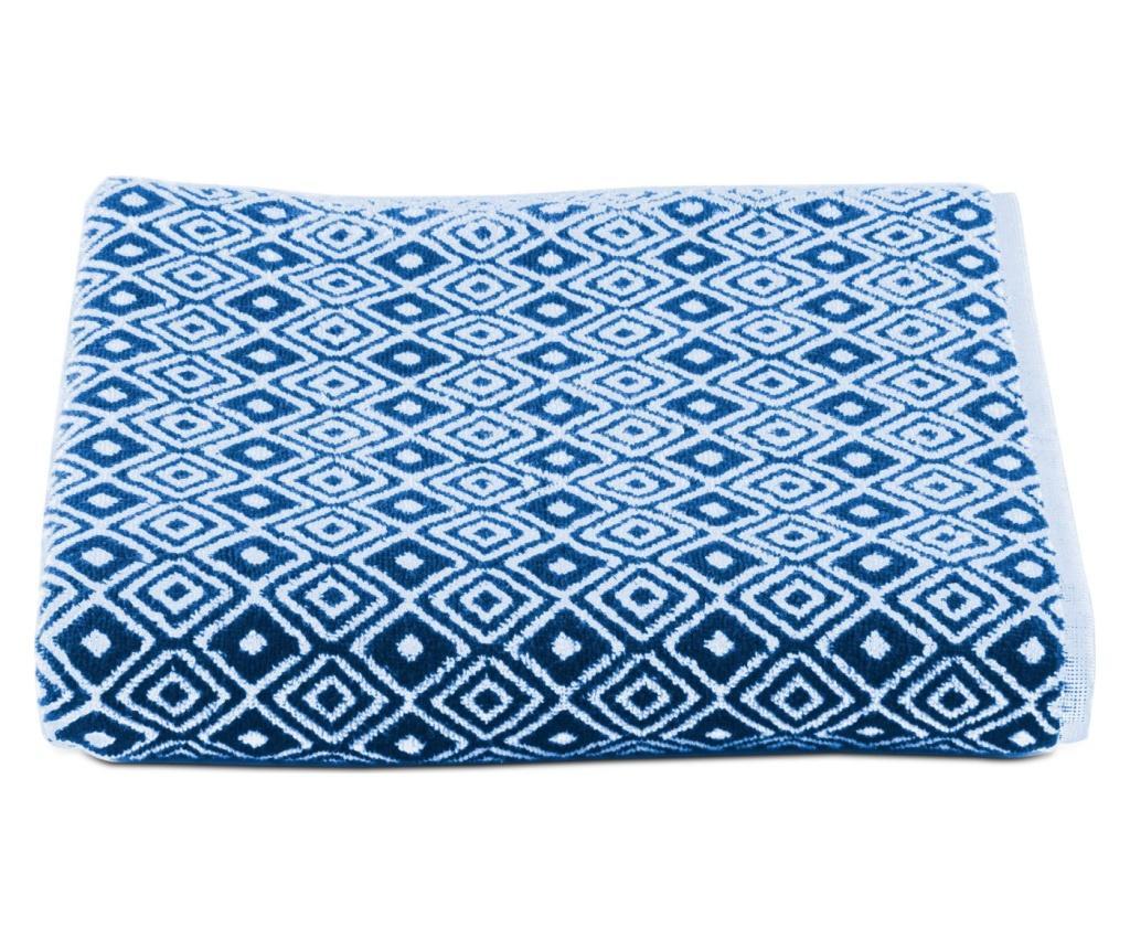 Prosop de baie Marrakesh Indigo 100x150 cm - Dondi Home, Albastru