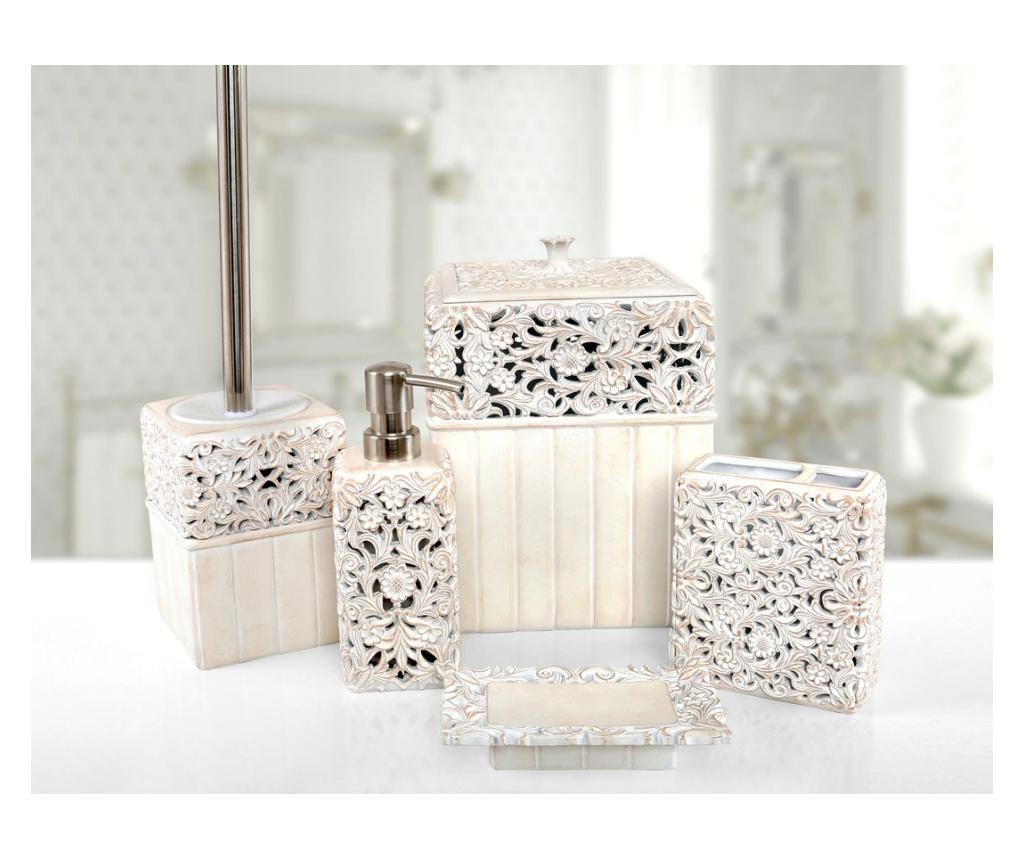 Set accesorii de baie 5 piese Calisto Cream