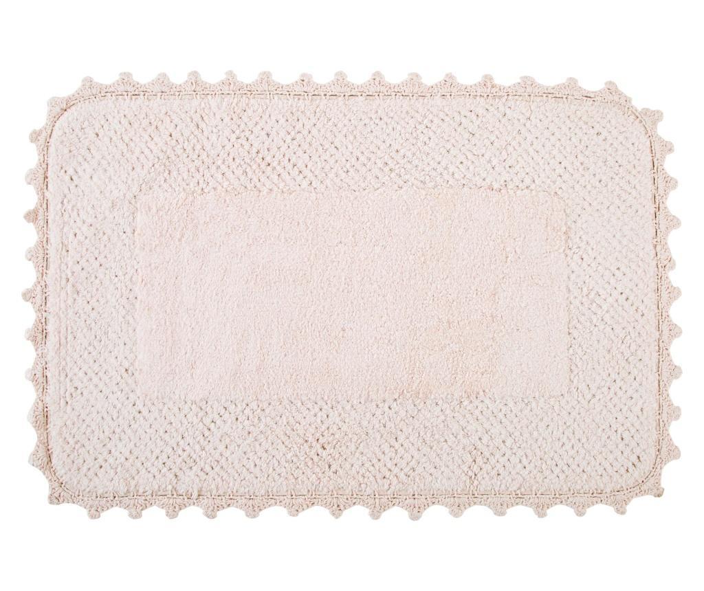 Covoras de baie Carmela Pink 70x110 cm imagine