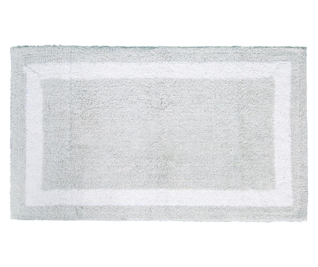 Covoras de baie Barnes Silver 53x86 cm imagine
