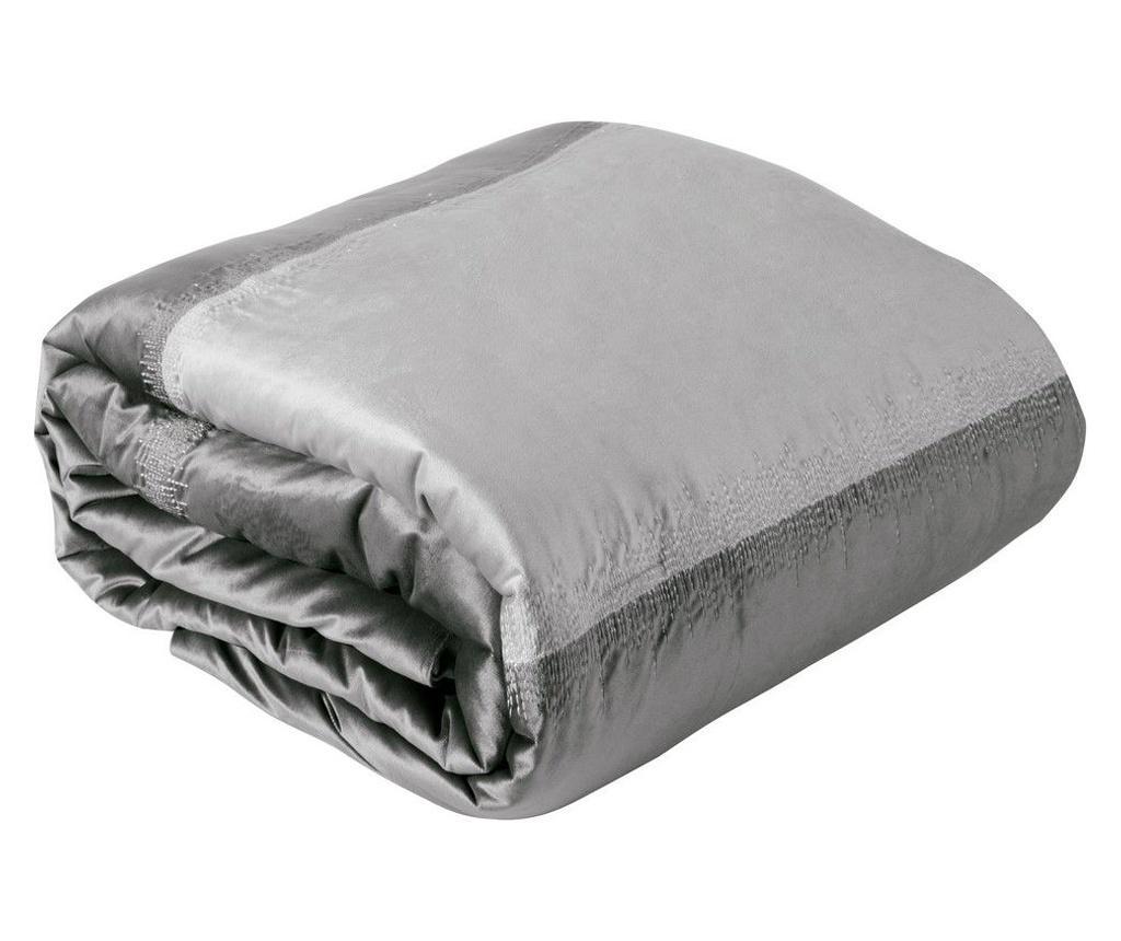Cuvertura Alessia Silver 220x240 cm - Eurofirany, Gri & Argintiu imagine