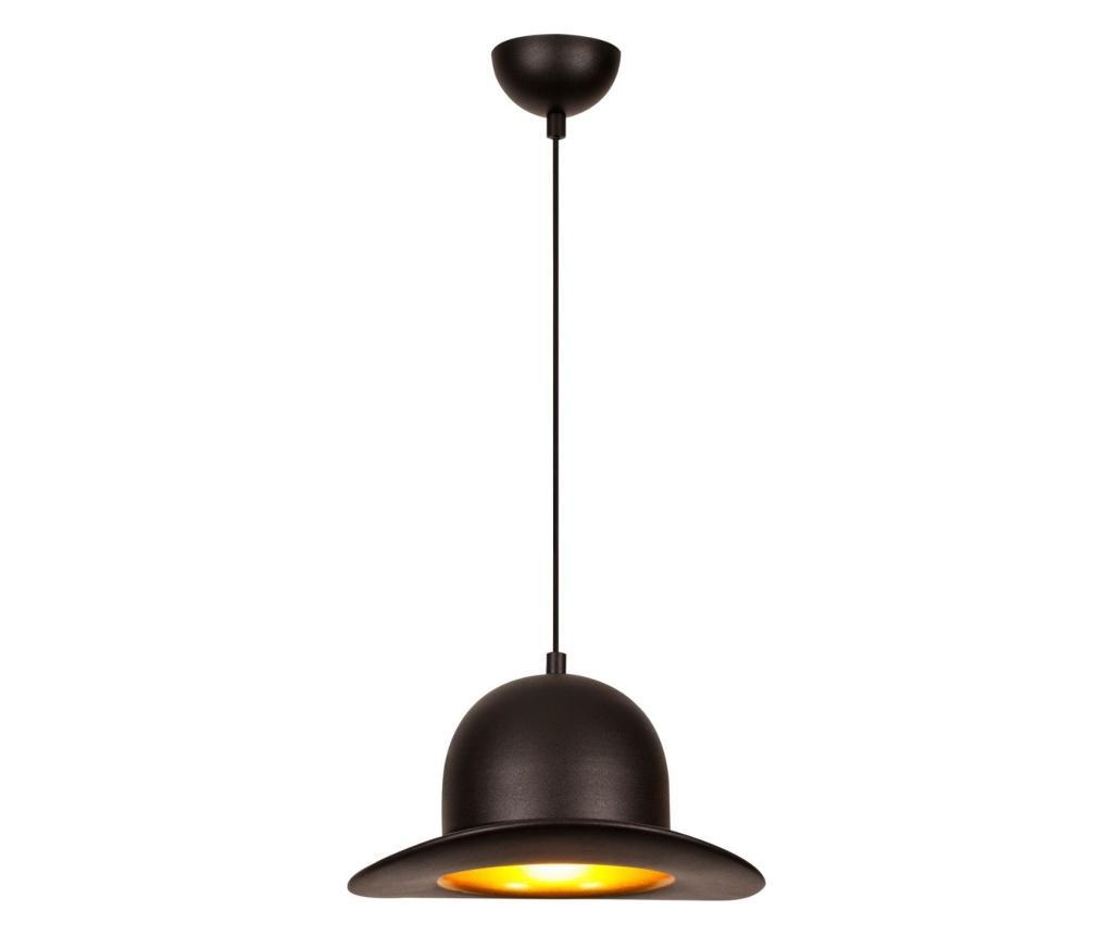 Závěsná lampa Sivani One Black Round