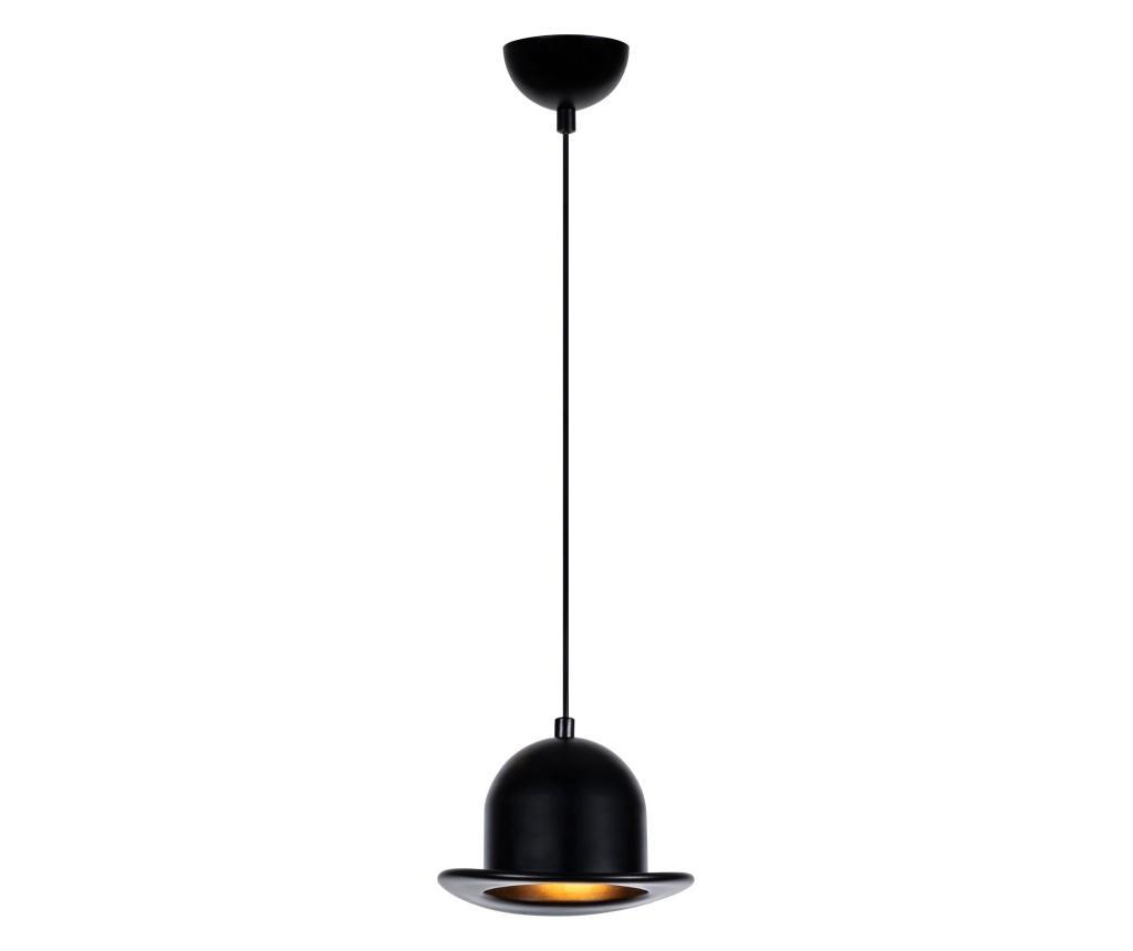 Lustra Fötr Sivani One Black Round - Noor, Negru imagine