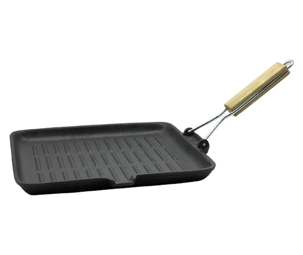 Tigaie grill 28x28 cm imagine