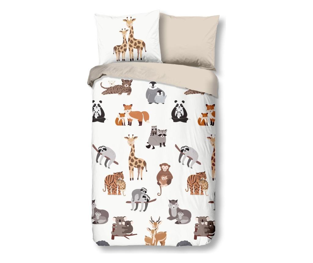 Set de pat pentru copii Single Ranforce Zoo imagine