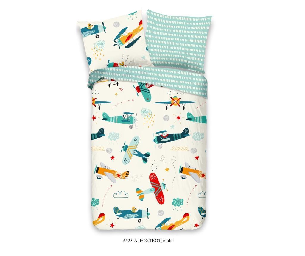 Set de pat pentru copii Single Ranforce Foxtrot imagine