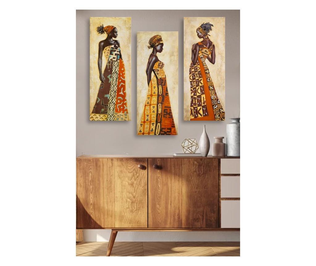 Set 3 tablouri 20x50 cm imagine