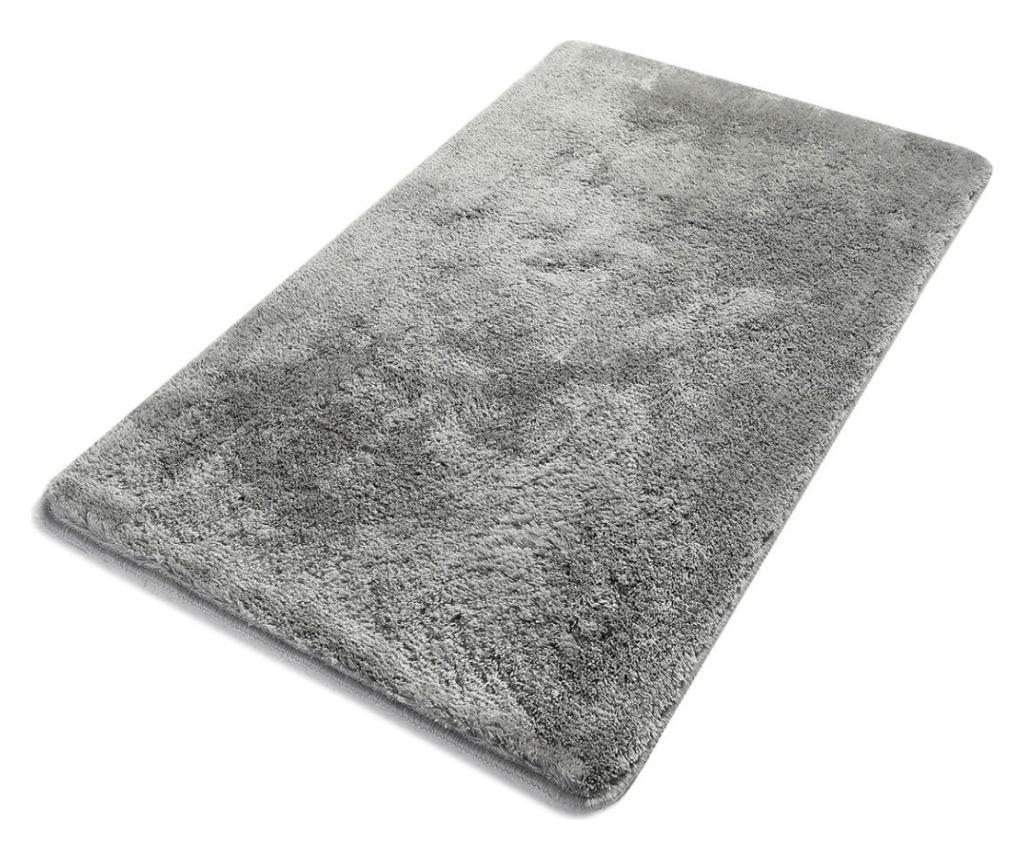 Covoras de baie Havai Grey 70x120 cm - Chilai Home, Gri & Argintiu imagine