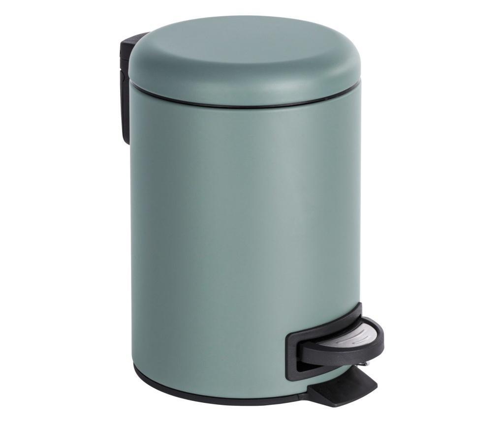 Cos de gunoi cu capac si pedala 3 L - Wenko, Multicolor imagine