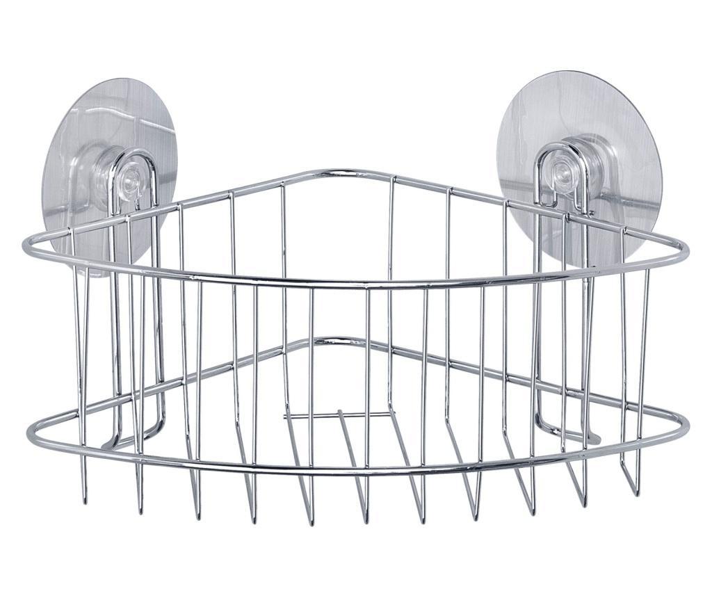 Suport accesorii de baie de colt imagine