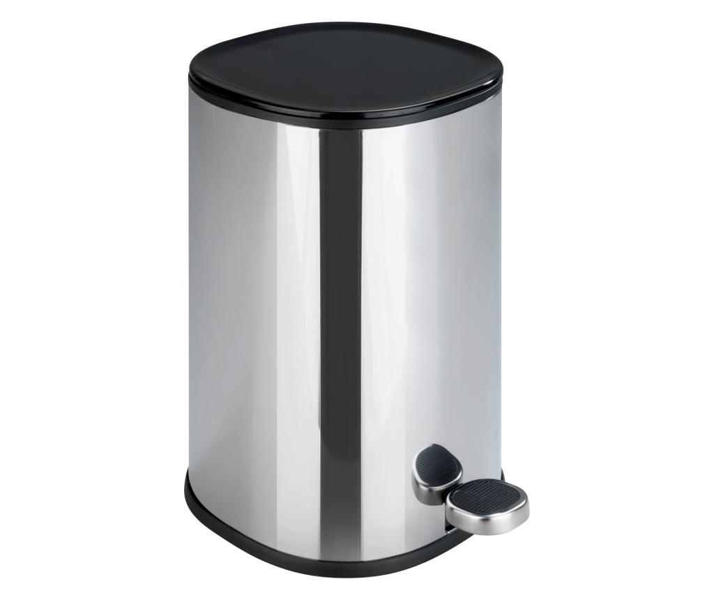 Cos de gunoi cu capac si pedala 5 L