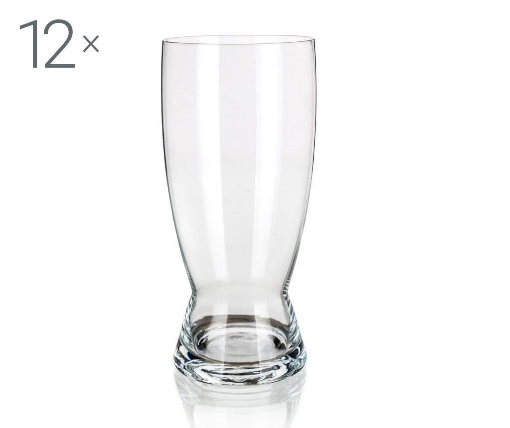Set 12 pahare pentru bere 630 ml