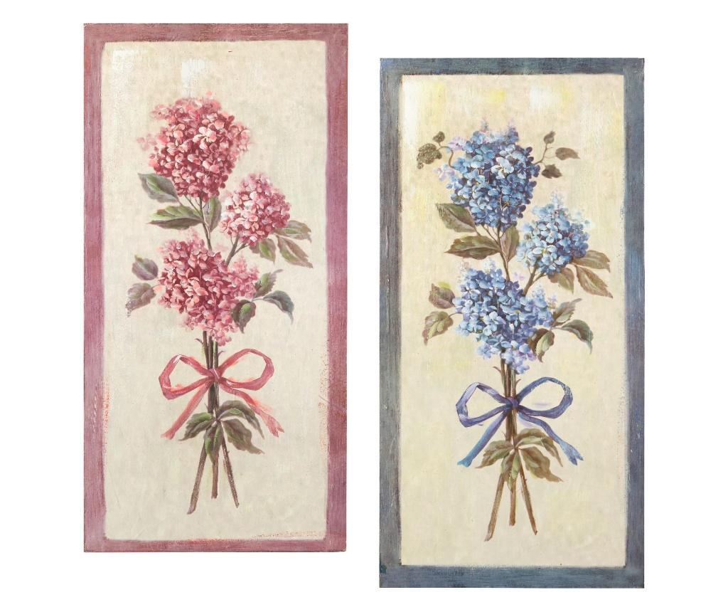 Set 2 tablouri - L'arte di Nacchi, Multicolor