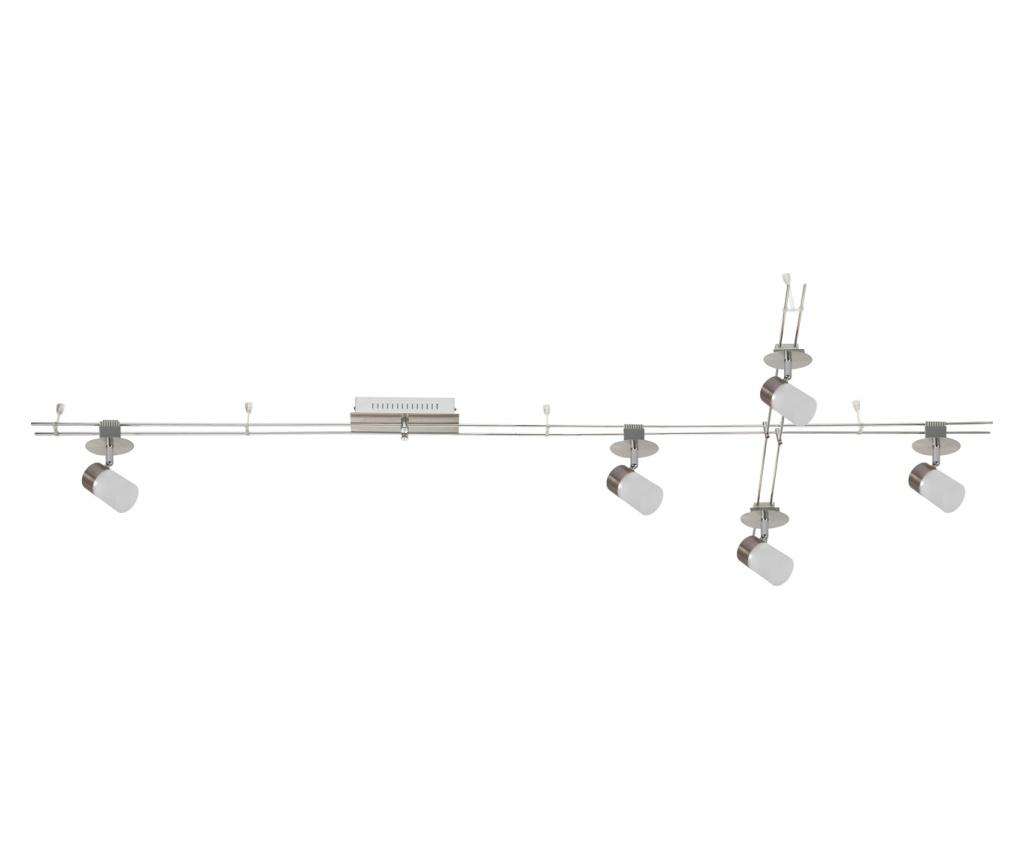 Aplica de tavan Track-system - Functional Lighting, Gri & Argintiu imagine