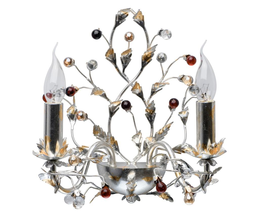 Aplica de perete Viola - Exquisite Lighting, Gri & Argintiu imagine