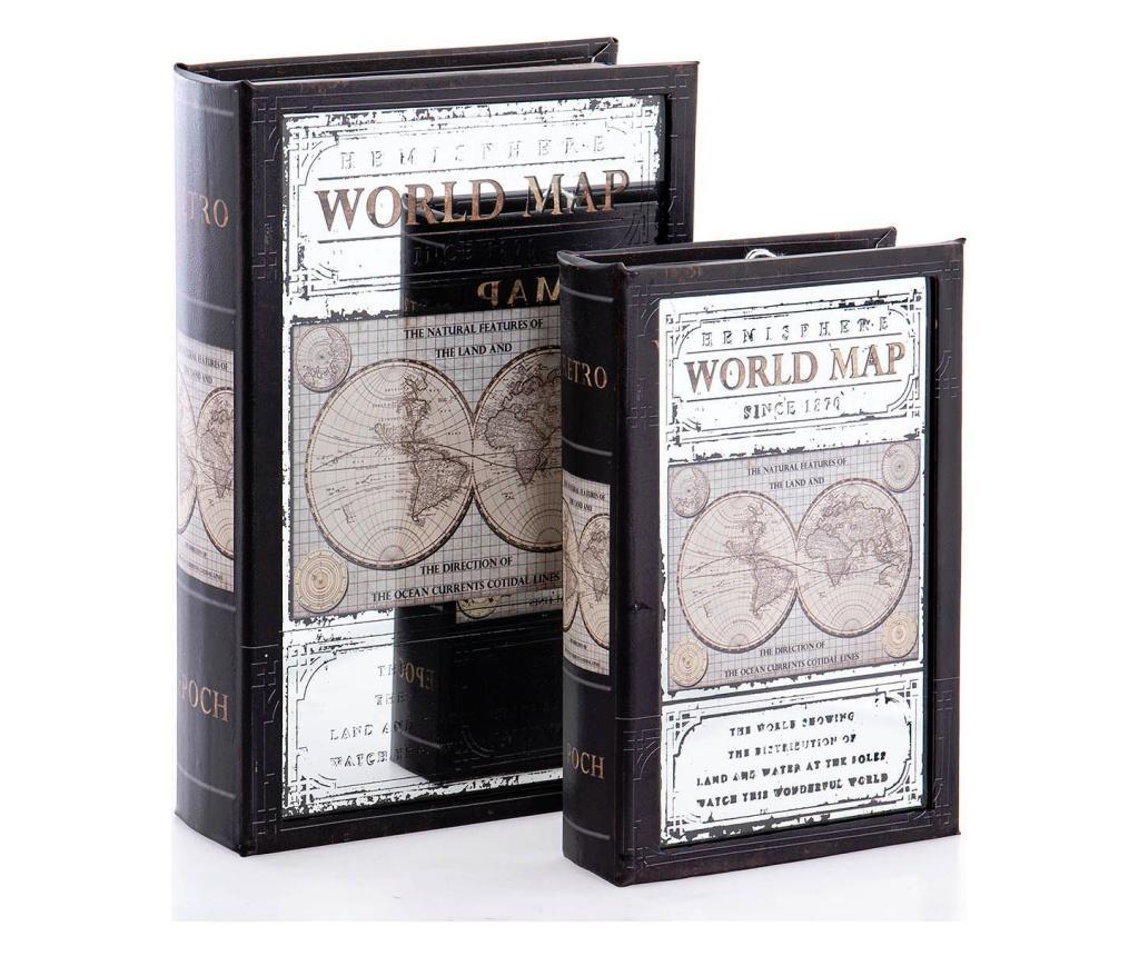 Set 2 cutii decorative