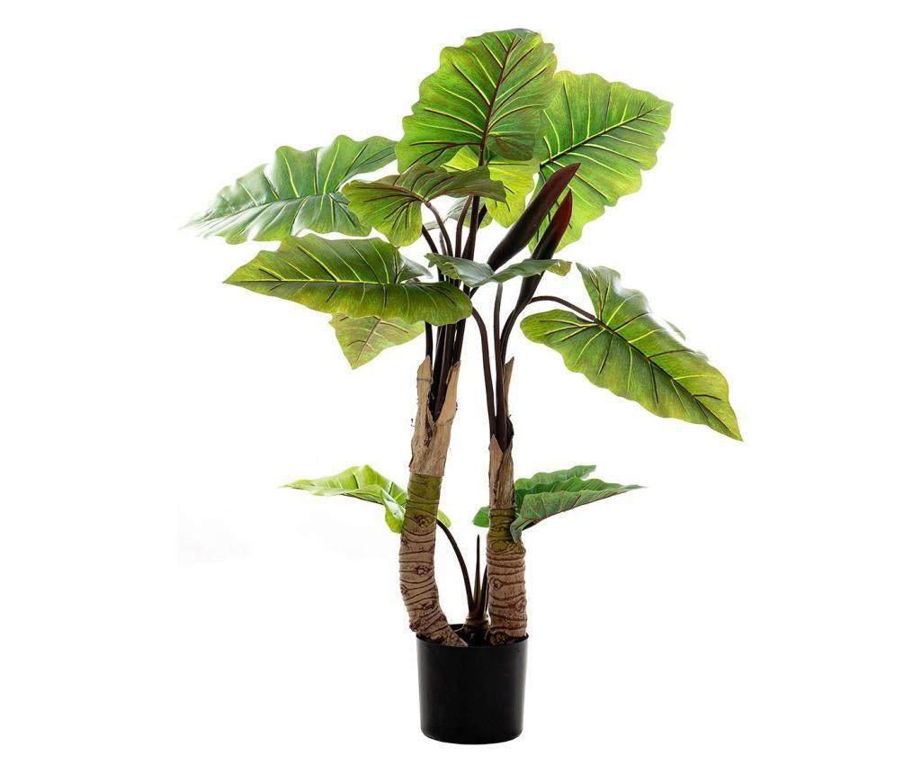 Floare artificiala cu ghiveci imagine