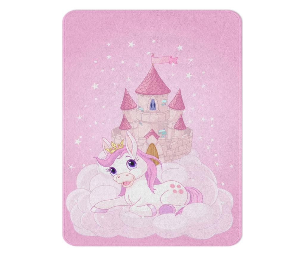 covor, copii, unicorn, roz, castel, pastelate