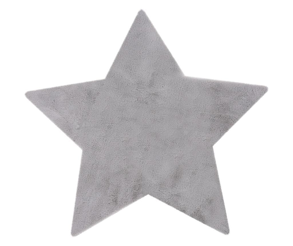 Covor My Luna 86x86 cm - Obsession, Gri & Argintiu
