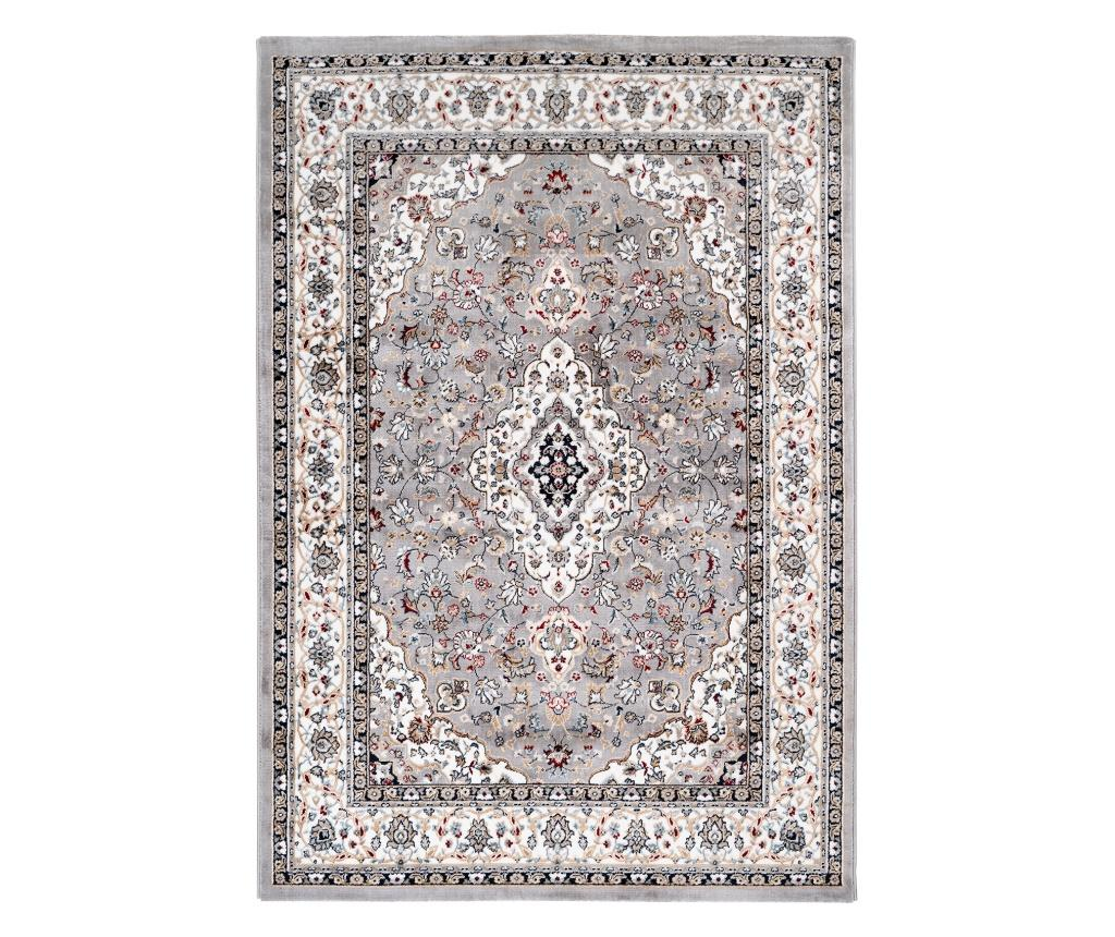 Covor Isfahan 160x230 cm - Obsession, Gri & Argintiu