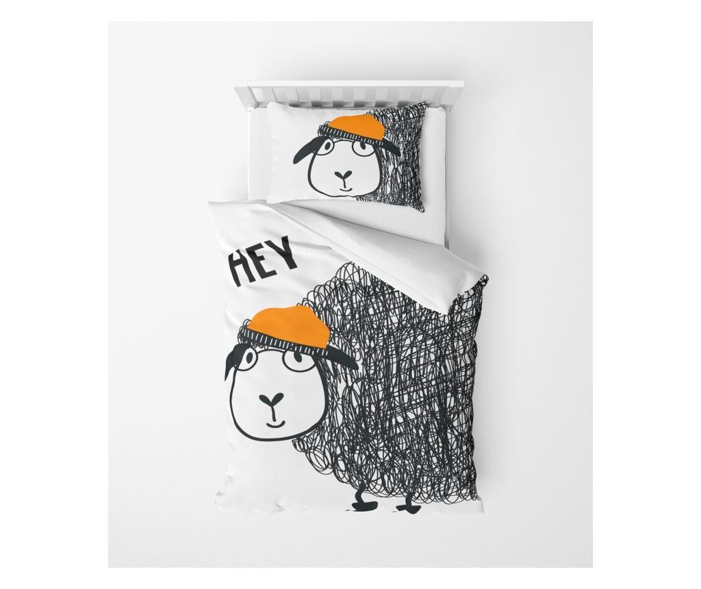 Lenjerie de pat pentru copii Anemone - Oyo Home, Multicolor vivre.ro