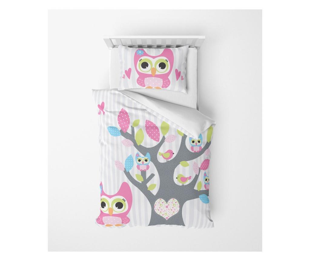 Lenjerie de pat pentru copii Aconite - Oyo Home, Multicolor vivre.ro