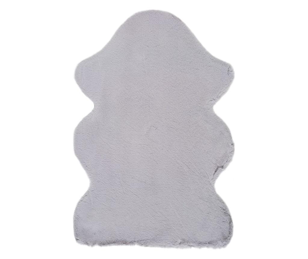 Covor Fox Silver Rustic 60x90 cm - Universal XXI, Gri & Argintiu imagine vivre.ro