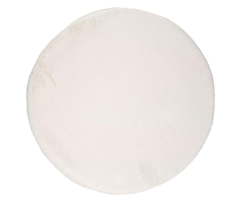 Covor Fox White Round 120x120 cm - Universal XXI, Alb imagine