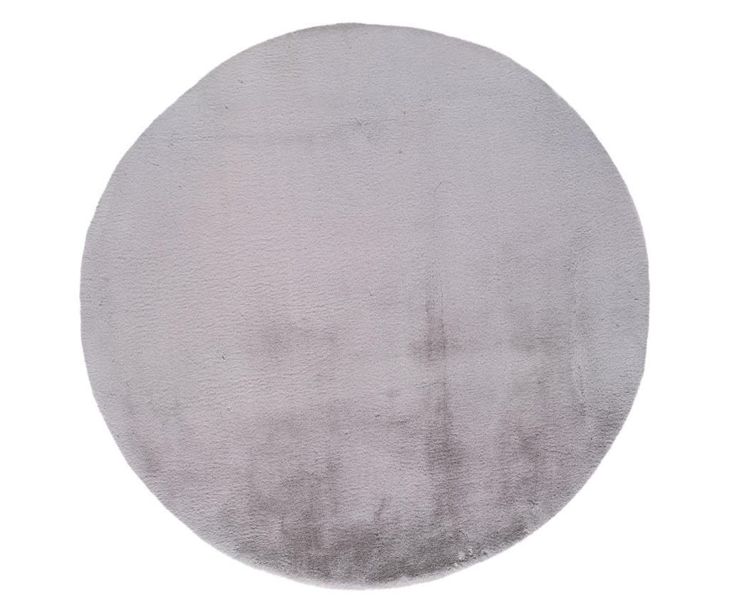 Covor Fox Silver Round 120x120 cm - Universal XXI, Gri & Argintiu