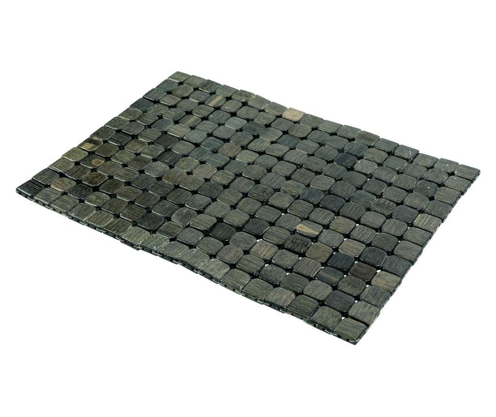 Set 6 suporturi pentru farfurii Bamboo Dark Green imagine