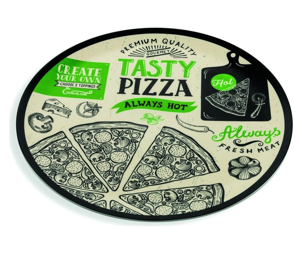Platou pentru pizza Vintage Multicolor imagine