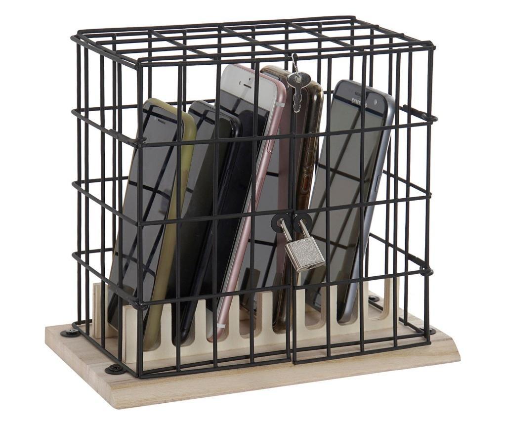 Caseta cu lacat pentru telefoane mobile