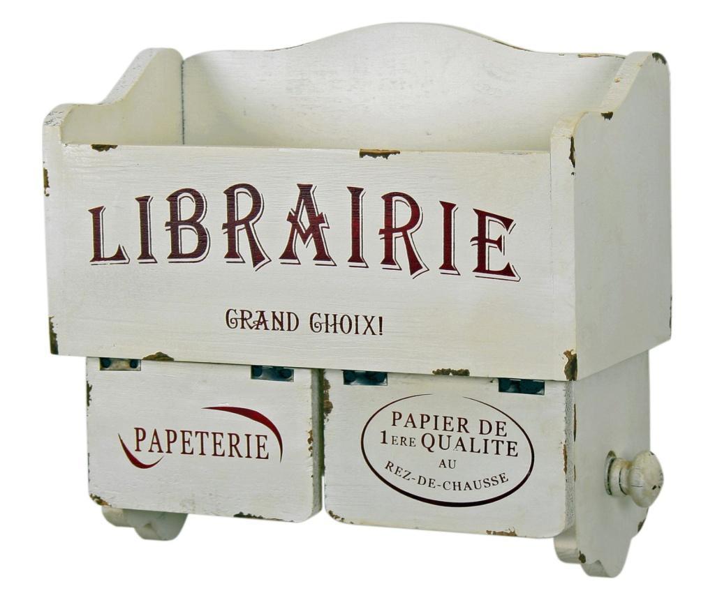 Etajera cu suport pentru hartie igienica Librairie - Originals