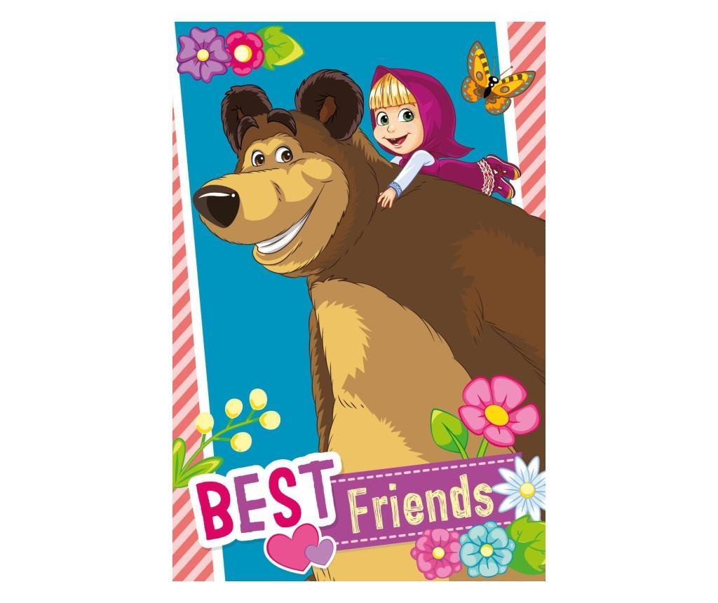 Prosop pentru copii Masha And The Bear 40x60 cm