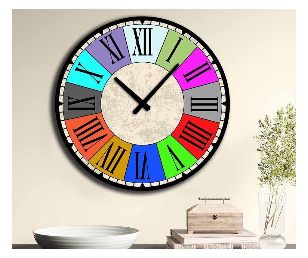 Ceas de perete - Home Art, Multicolor