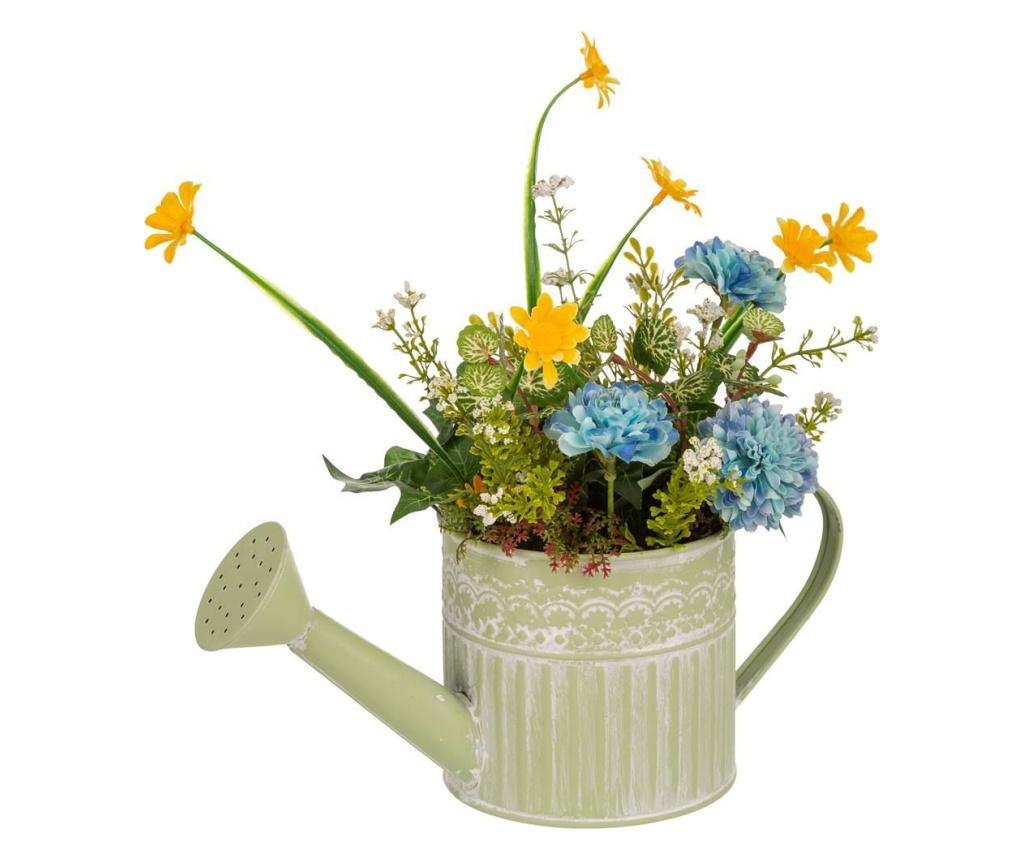 Planta artificiala in ghiveci - Creaciones Meng, Multicolor