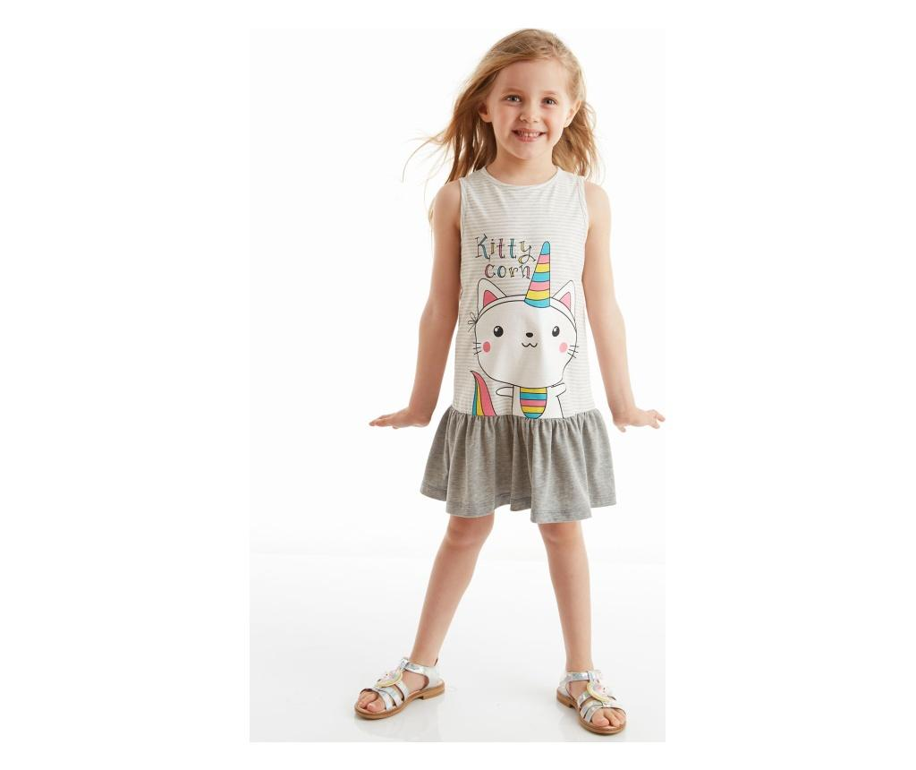 Rochie fete Kittycorn 5 ani - Denokids