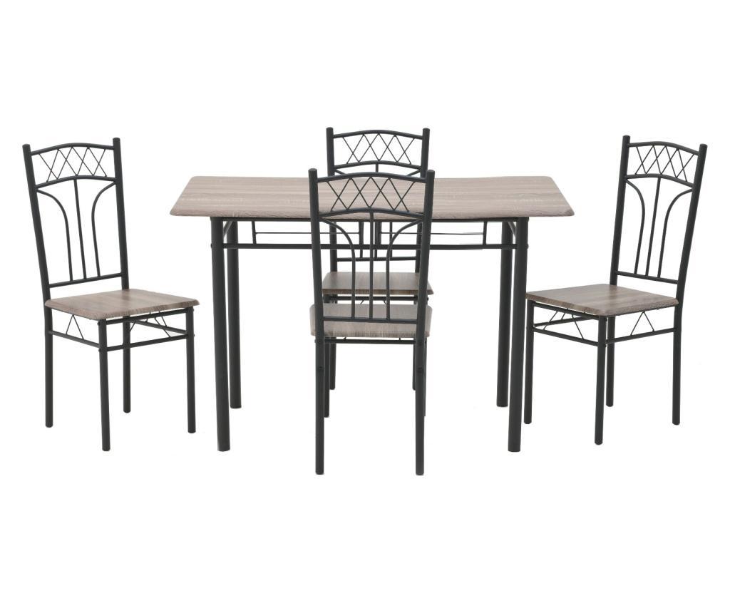 Set masa si 4 scaune imagine