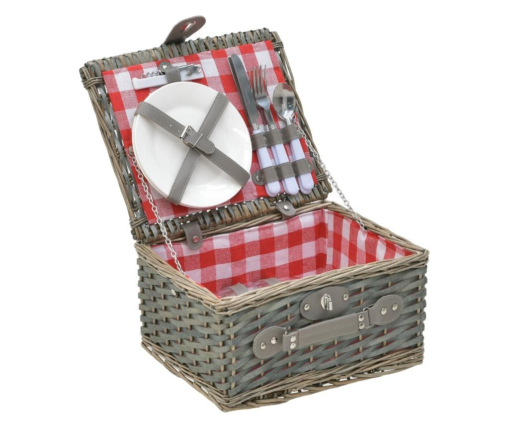 Cos picnic pentru 2 persoane Wiloo Natural imagine