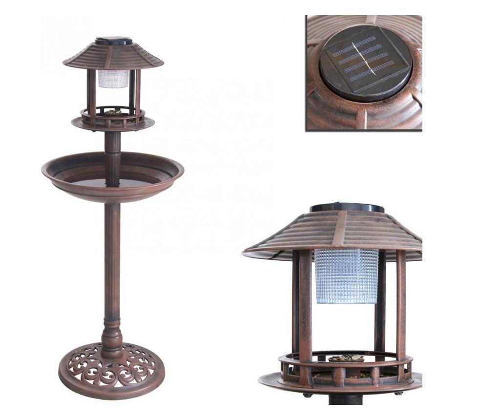 Hranitoare pentru pasari cu lumina solara