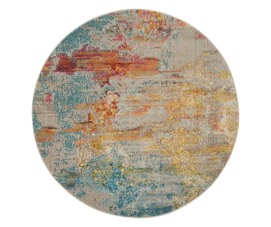 Covor 160x160 cm - Nourison, Multicolor imagine