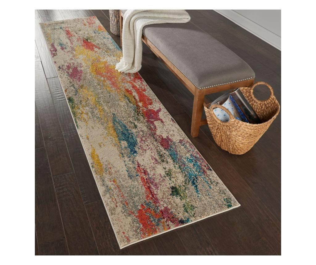 Covor 66x305 cm - Nourison, Multicolor