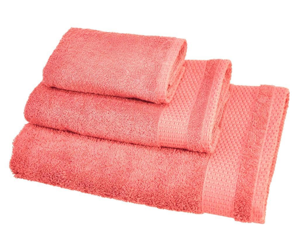 Set 3 prosoape de baie Madison Pink - Ardenza, Roz poza