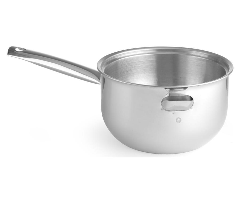 Cratita bain marie 1 L - Hendi, Gri & Argintiu