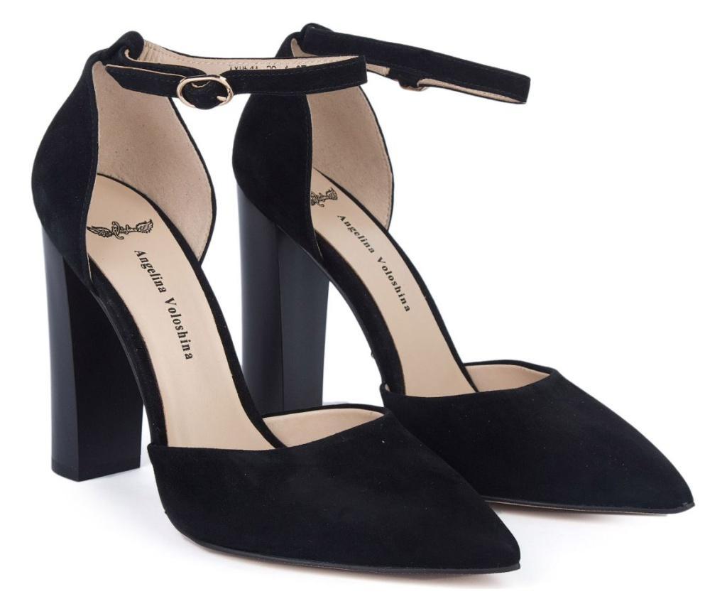 Pantofi cu toc dama 38
